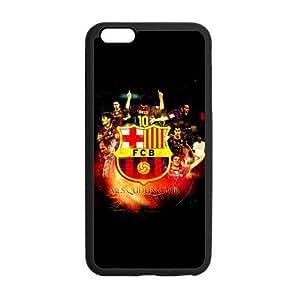 KOKOJIA Fashion FC Barcelona Custom Case for iPhone6 Plus 5.5 (Laser Technology)