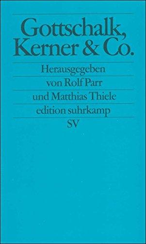 Read Online Gottschalk, Kerner und Co. PDF