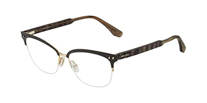 6e0b3c3483a1 Image Unavailable. Image not available for. Color  JIMMY CHOO Eyeglasses  138 0LYE Matte Brown 53MM