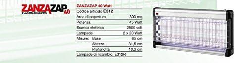CFG ZANZAZAP E331 2X8 WATT FULMINA INSETTI