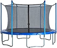 Trampoline Net Replacement, 6Ft/8Ft/10Ft/12Ft/14Ft/16Ft Trampoline Protective Net, Breathable Trampoline Safet