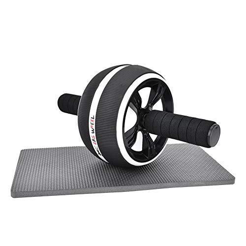 Sorand Ab Roller Wheel, Abdominal Wheel Roller Trainer Fitnessapparatuur Fitnessstudio Huisvesting met trainingspad en…