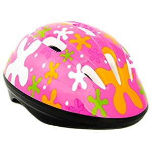 Baby Solo Toddler Bike Helmet | Lightweight, Safe, Adjustable, Vented, CSPC Certified | 2-5 Years Old Boy and Girl Colors (Cutie Pink)