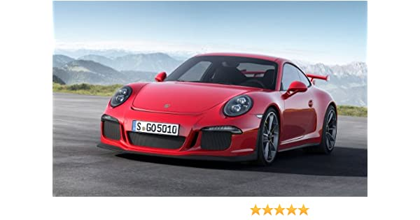 Amazon.com: Porsche 911 Gt3 2013 24X36 Poster Banner Photo: Posters & Prints