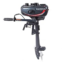 Generic 3.5hp Superior Engine Water Cooling System Outboard Motor Two-strok Inflatable Fishing Boat