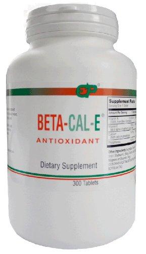 EP Beta-Cal-E Beta Carotene/Calcium/Vitamin E 150 Tabs