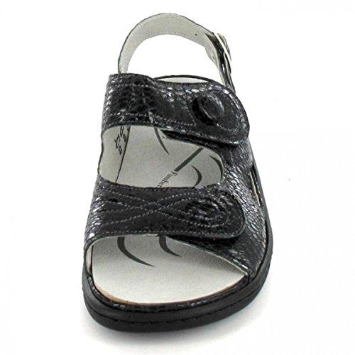 Waldläufer Sandalette Heria, Farbe: schwarz