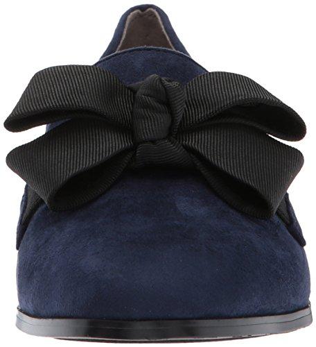 Bandolino Womens Lomb Loafer Flat Navy