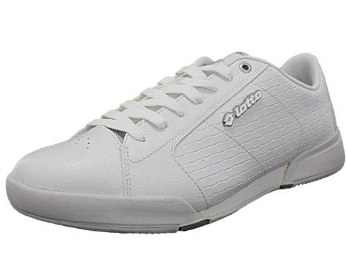 Zapatillas Casuales Para Hombre Lotto L7309 Blanco