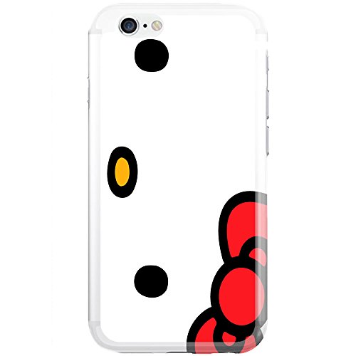 [Ashley Cases] TPU Clear Skin Cover Case for iPhone 5/5S - Hello Kitty Face - Hello Kitty 5s Case
