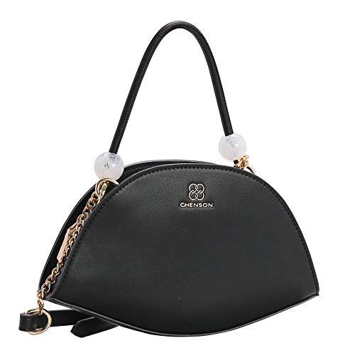 Bolsa Transversal Feminina Chenson 3482957 Preta