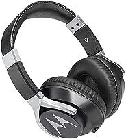 Fone de Ouvido Bass Cabo Destacável 1.2M com Microfone, Motorola, Pulse200, Preta, Tamanho Único