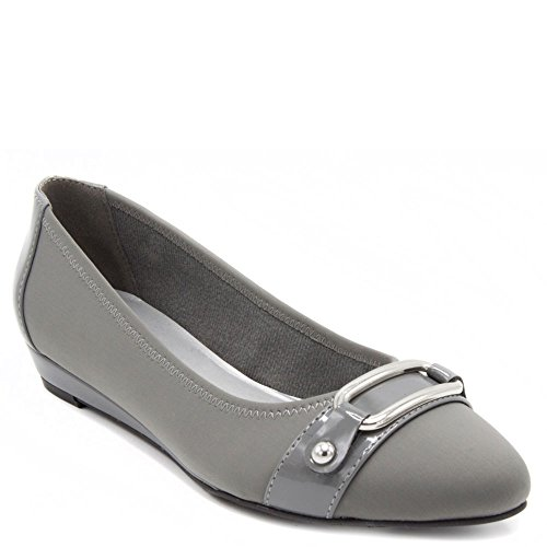Fog Demi Shoe London Grey Dress Chelsea Womens Wedge d46qtw