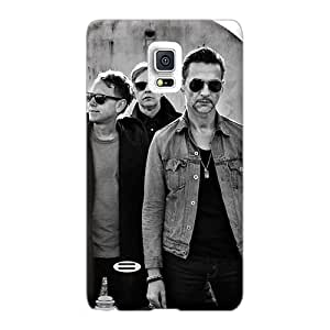 Perfect Hard Cell-phone Cases For Samsung Galaxy Note 4 With Custom Attractive Depeche Mode Band Series JohnPrimeauMaurice