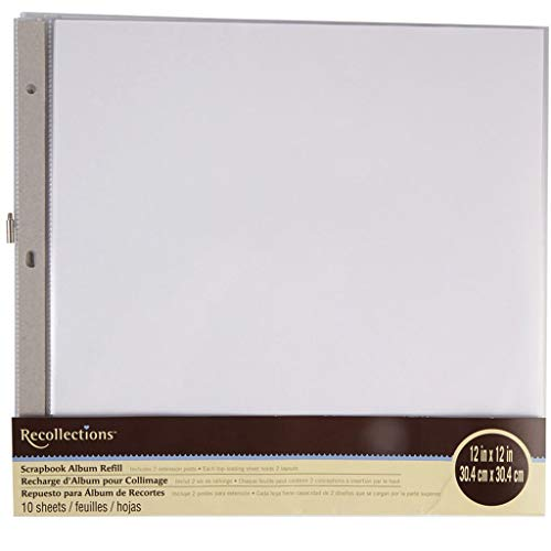 (Recollections Scrapbook Album Refill Pages (12 x 12))