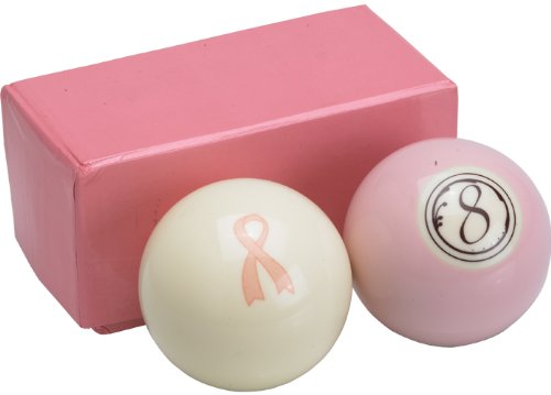 Cue Ball and Pink 8-Ball Set