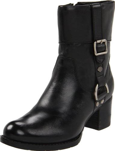 - Harley-Davidson Women's Sadie Work Boot, Black, 8.5 M US