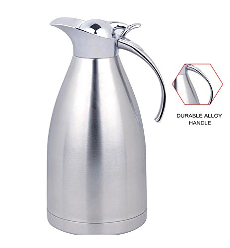 Panesor 2 Liter(68 Ounce) Thermal Coffee Carafe Stainless Steel Carafe Coffee Pot (Body French Press Parts compare prices)