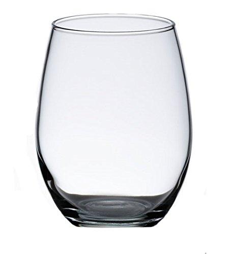 Lillian Rose Simple Single Stemless Wedding Wine Glass
