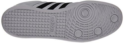 adidas Cross Court, Scarpe da Ginnastica Uomo, Bianco (Ftwbla/Negbas/Negbas), 48 EU
