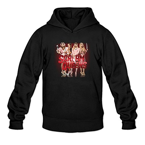 Scream Queens 2015 Tv Series Poster Hoodies Sweatshirt Black For Men