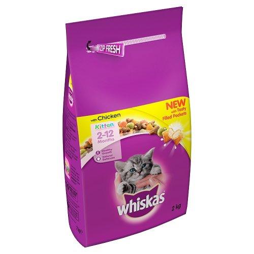 Whiskas chaton complète poulet 2 kg MARS 215492