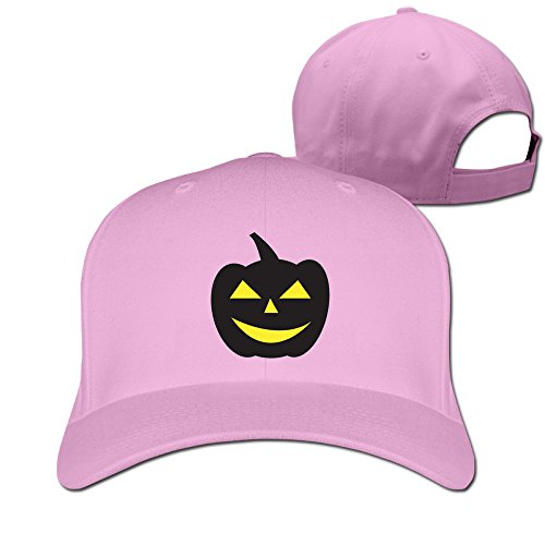 Happy Halloween Pink Adjustabal Hats For Man
