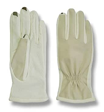 Isotoner Womens SmarTouch 2.0 Fleece Lined Stretch Gloves