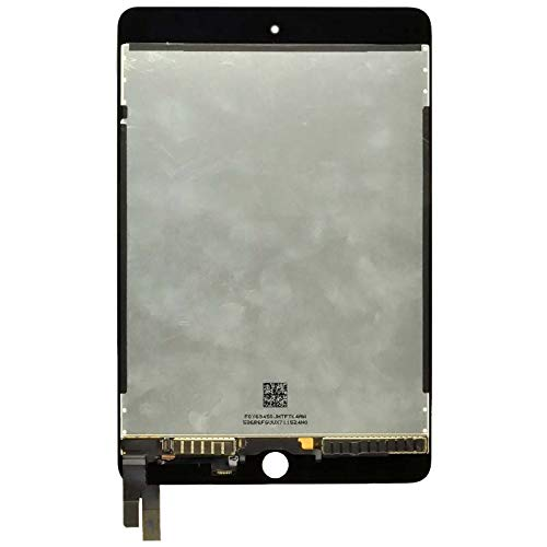 LCD & Digitizer Assembly (with Sleep & Wake Sensor Flex Cable) for Apple iPad Mini 4 (Black) with Glue Card by Wholesale Gadget Parts (Image #1)