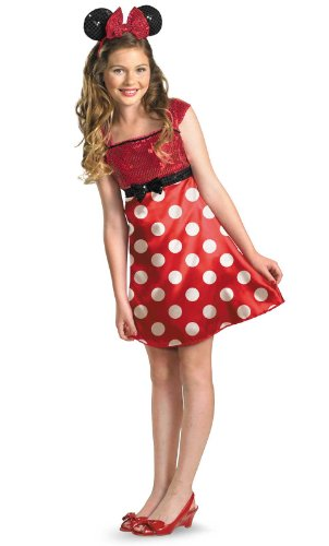 Minnie Mouse Tween Costume - Medium