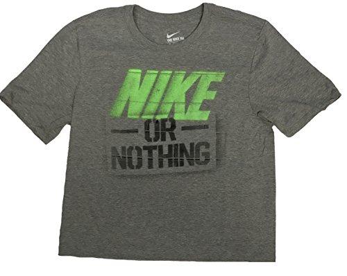 Nike Männer Nike läuft dieses Grafik T-Shirt Nicht Lt. Grau