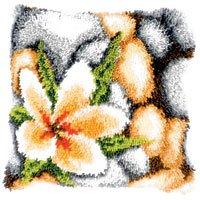 Vervaco PN-0143940 Knüpfkissen Steine