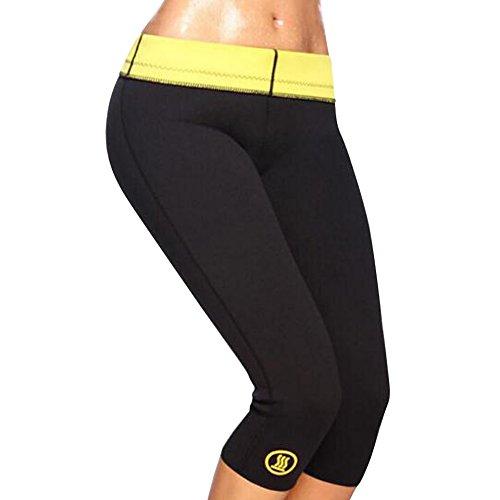 Femmes pantalons minceur en néoprène sweat sauna gilets yoga gym fitness legging minceur pantalons d'entraînement
