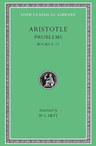 Aristotle: Problems Books I-XXI L316 V15 (Greek)