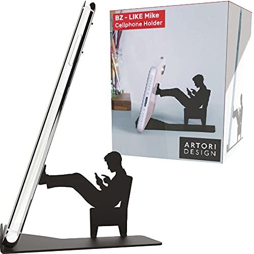 Soporte de escritorio para celular y tablet chicas hombre