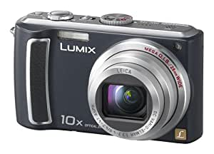 Panasonic Lumix DMC-TZ4K 8.1MP Digital Camera with 10x Wide Angle MEGA Optical Image Stabilized Zoom (Black)