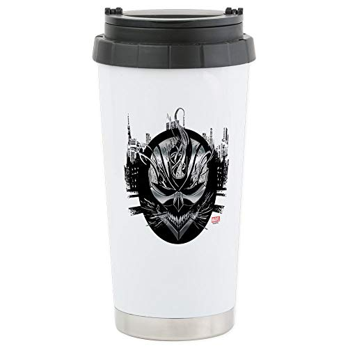 CafePress Ghost Rider Metals Stainless Steel Travel Mug Stainless Steel Travel Mug, Insulated 16 oz. Coffee Tumbler
