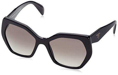 Prada Women's PR 16RS Black/Grey Gradient, - Sunglasses Womens Black Prada
