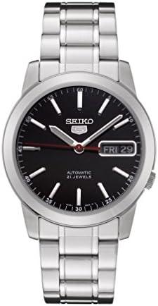 [セイコー] 自動巻き式腕時計 セイコー5 海外モデル ブラックダイアル SNKE53K1 [逆輸入品]