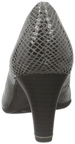 22401 Womens Grau Grey Pat Heels 297 Closed Struc Jana Toe 6qv5F5w