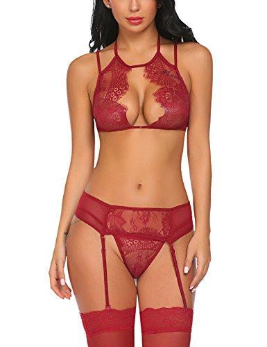 Avidlove Women Lace Lingerie Set...