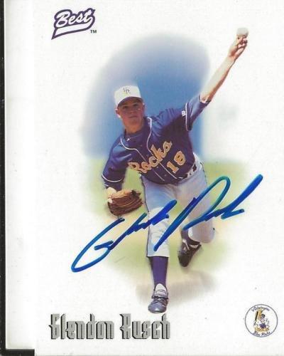 Glendon Rusch 1996 Best Certified Autograph RC Royals