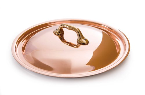 Mauviel Made In France M'Heritage Copper M150B 6529.24 9.6-Inch Dome Lid by Mauviel