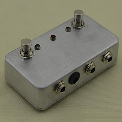 new hand made aby guitar pedal switch box a b combiner footswitch true bypass amp guitar ab. Black Bedroom Furniture Sets. Home Design Ideas