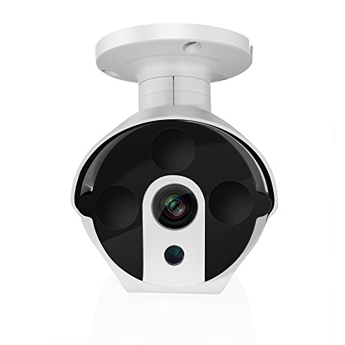 A-ZONE IP Security Camera 2MP 1080P POE Security IP Camera Outdoor Fixed Bullet, Night Vision 115ft,Motion Detection, No Need Power Adapter Review