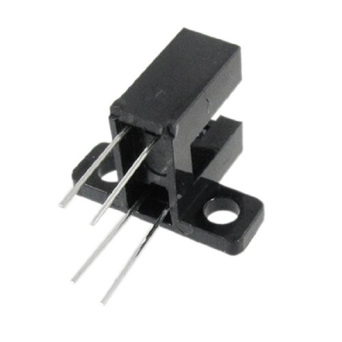 """Price comparison product image uxcell 1/5"""" Slot Photo Interrupter Slotted Optical Switch HY505 10 Pcs"""