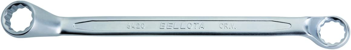Curved 16 x 17 mm Box-End Wrench Bellota 6420-16x17