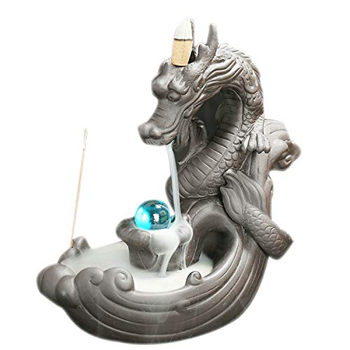 Xch Incense Burner, Backflow Incense Holder Ceramic Incense Cones