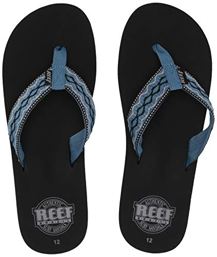(Reef Men's Smoothy Sandal, Multi, 5)