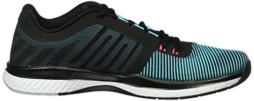 Nike Zoom Speed Tr3, Zapatillas de Gimnasia para Hombre Negro (Negro (Blk/Elctrc Grn-Gmm Bl-Hypr Pnk))